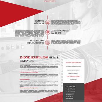 Internetinių svetainių kūrimas Vilniuje / Bona Solutions / Darbų pavyzdys ID 153479