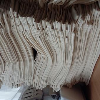 Medvilniniai maišeliai su rankenomis