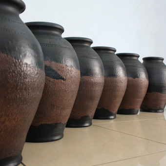dideles vazos