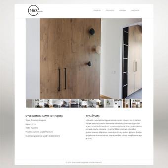 Interneto svetainių dizaineris / Skirmantė / Darbų pavyzdys ID 155475