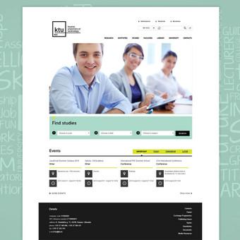 Interneto svetainių dizaineris / Skirmantė / Darbų pavyzdys ID 155487