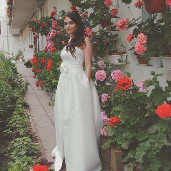 Vestuvinių ir proginių suknelių siuvėja Vilniuje / Oksana Dorofejeva / Darbų pavyzdys ID 162909