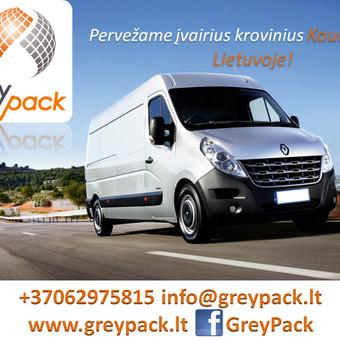GreyPack - transporto įmonė / GreyPack / Darbų pavyzdys ID 164137