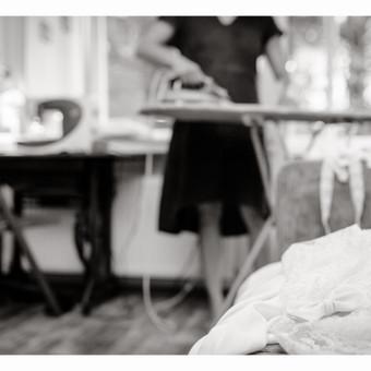 Siuvėja / Vestuvinės suknutės atsiradimas