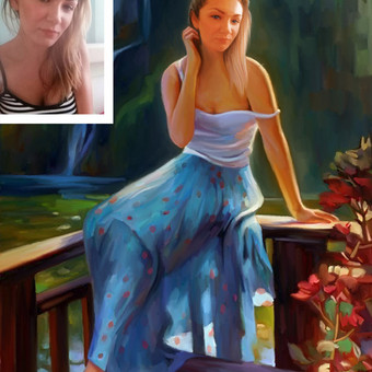 Dailininkas / Vilkas / Darbų pavyzdys ID 166035