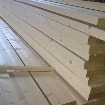Tvoros/pakalimo dailylentė, Eglė. 18x95x6000 mm - 7,5 €/m2