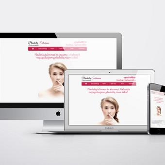 Internetinė svetainė naujai atsidarusiam elektroepiliacijos salonui. www.plaukeliusalinimas.lt