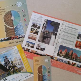 Tarptautinės konferencijos reklaminiai leidiniai