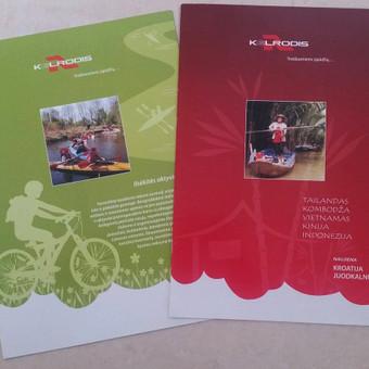 Teminiai kelionių agentūros leidiniai