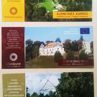 Reklaminiai leidiniai kaimo turizmo ir dvarų pristatymui