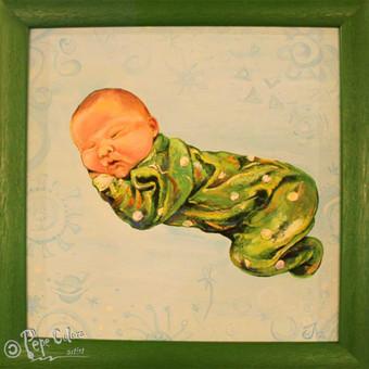Vaikų portretai (krikštynos, gimtadieniai, gimimas)