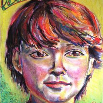 Individualūs portretai pastele
