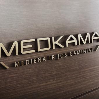 Medkama logo (daugiau darbų www.logobox.lt)