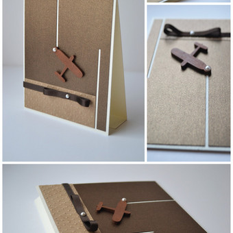 Rankų darbo atvirukas gimtadienio proga. Dydis - 130 x 110  (gali būti ir su vokeliu).