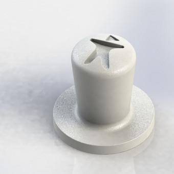 Grūstuvas naudojamas suspausti kavą kavos aparatuose. Gali būti lengvai pritaikytas pagal įmonės logotipą (viršuje esantis įspaudas)