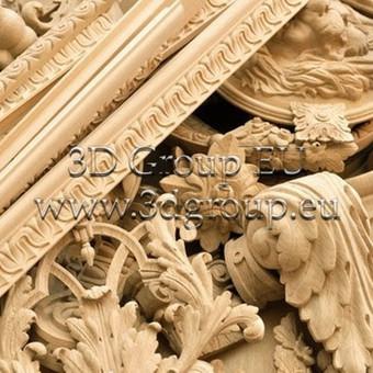 2D, 3D ir 4D frezavimas, 3D skenavimas / 3D Group EU, 3D Wood / Darbų pavyzdys ID 174527