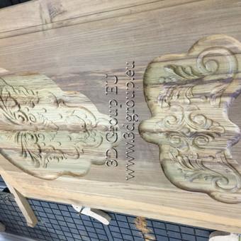 2D, 3D ir 4D frezavimas, 3D skenavimas / 3D Group EU, 3D Wood / Darbų pavyzdys ID 174531