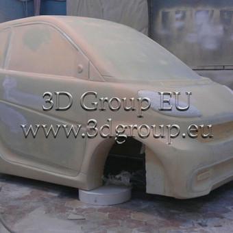 2D, 3D ir 4D frezavimas, 3D skenavimas / 3D Group EU, 3D Wood / Darbų pavyzdys ID 174539
