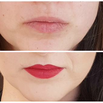 Pakoreguota lūpų forma