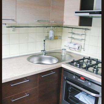 Mažo buto virtuvė