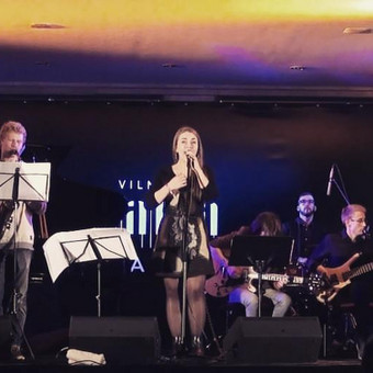 "Festivalyje Vilnius ""Mama Jazz"" (2016)"