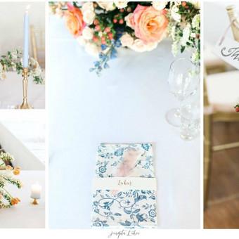 Pavasario vestuvių gaivus dekoras pagal 2016 m. Panthone instituto įgeidžius. Su gėlėmis žaidė Roberta Drasutė, nuotrauka Jurgita Lukos.