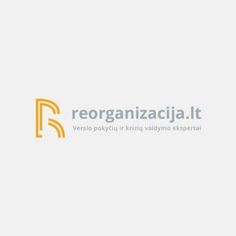 """Sukurtas logotipas verslo pokyčių ir krizių valdymo ekspertams """"Reorganizacija.lt""""."""