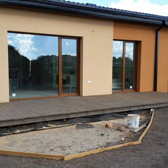 sumontuota terasa (gerbūvis dar ruošiamas)
