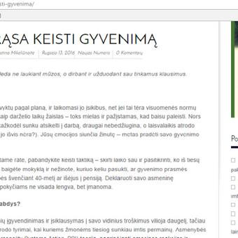 Laisvai samdoma žurnalistė Bulgarijoje / Justina Mikeliūnaitė / Darbų pavyzdys ID 178577