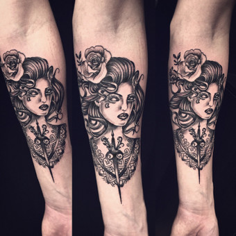 Tatuiruotės, tatuiruočių salonas / Vestina Jocaitytė / Darbų pavyzdys ID 179513