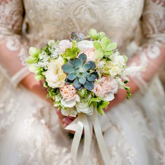 vestuvinė floristika nuo...iki... / Violeta Varnaite-kazlauskiene / Darbų pavyzdys ID 180079