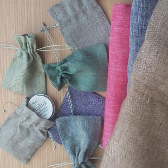 Maži maišiukai su užtraukiamais šniureliais