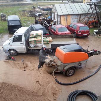 Betonavimo darbai, betonavimas / Algis Dumcius / Darbų pavyzdys ID 180389