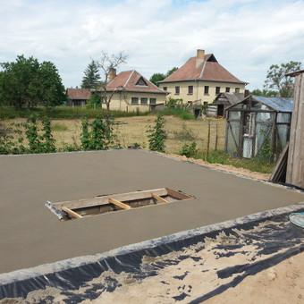 Betonavimo darbai, betonavimas / Algis Dumcius / Darbų pavyzdys ID 180393