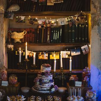 Vestuvės tema: Haris Poteris ir magija Nuotrauka: eglejo.lt