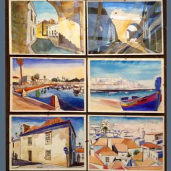 Akvarelė, A4 formatas.