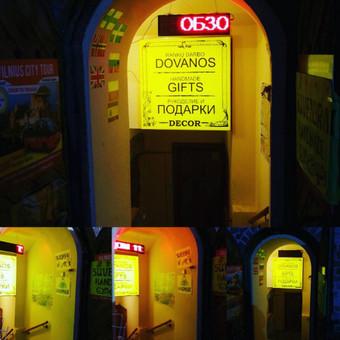 Iškabų, stendų, raidžių, lipdukų  gamyba / Sergejus Neverovas / Darbų pavyzdys ID 187227