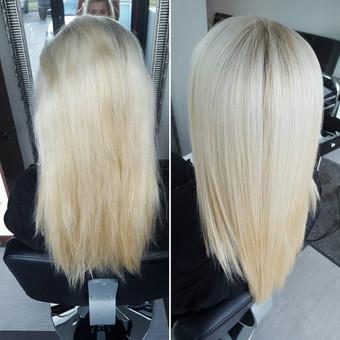 Ilagaikis mineralinis plaukų tiesinimas