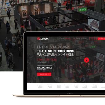Exponeer.com projektavimo ir dizaino darbai