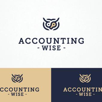Accounting wise - protinga apskaita       Logotipų kūrimas - www.glogo.eu - logo creation.