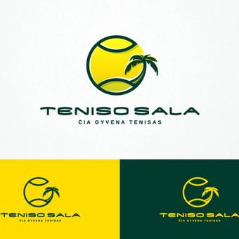 Teniso sala - čia gyvena tenisas       Logotipų kūrimas - www.glogo.eu - logo creation.