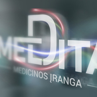 Medita logotipas (daugiau darbų www.logobox.lt)