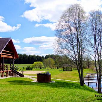 Kaimo turizmo sodyba PAS ŠEŠTOKĄ įkurta prie ežero netoli Molėtai, Utena ir Vilnius - 60 vietų -Vestuvėms, Renginiams, Poilsiui