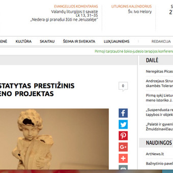 Publikacija Bernardinai.lt http://www.bernardinai.lt/straipsnis/2012-09-30-klaipedoje-pristatytas-prestizinis-siuolaikinio-meno-projektas/88702