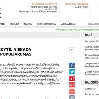 Straipsnis Bernardinai.lt http://www.bernardinai.lt/straipsnis/2012-10-01-greta-palubinskyte-niekada-nesibaigiantis-populiarumas/88701