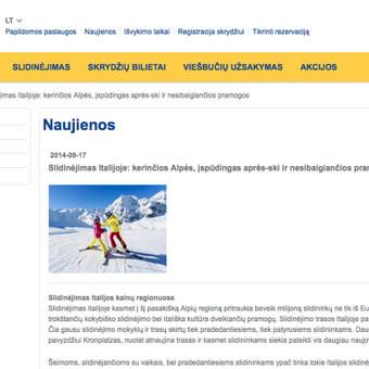 Naujienų pranešimai Novaturui. Nuoroda: https://www.novaturas.lt/naujienos/slidinejimas-italijoje--kerincios-alpes--ispudingas-après-ski-ir-nesibaigiancios-pramogos?id=2536