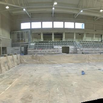 Elektrėnų baseino apšvietimo rekonstrukcija.