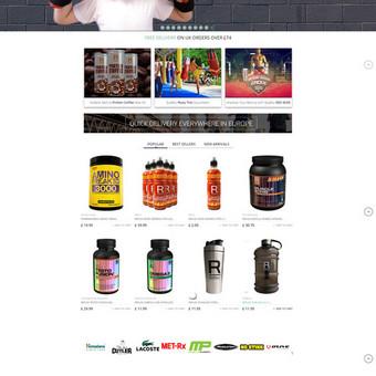 Internetinė sporto inventoriaus ir papildų parduotuvė http://testoking.com