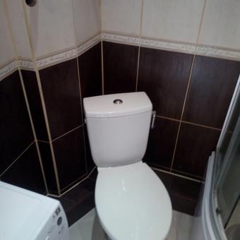 Naujai suremontuotas vonios kambarys,Žirmūnuos.