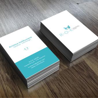 Vizitinių kortelių kūrimas (daugiau darbų www.tackis.lt)